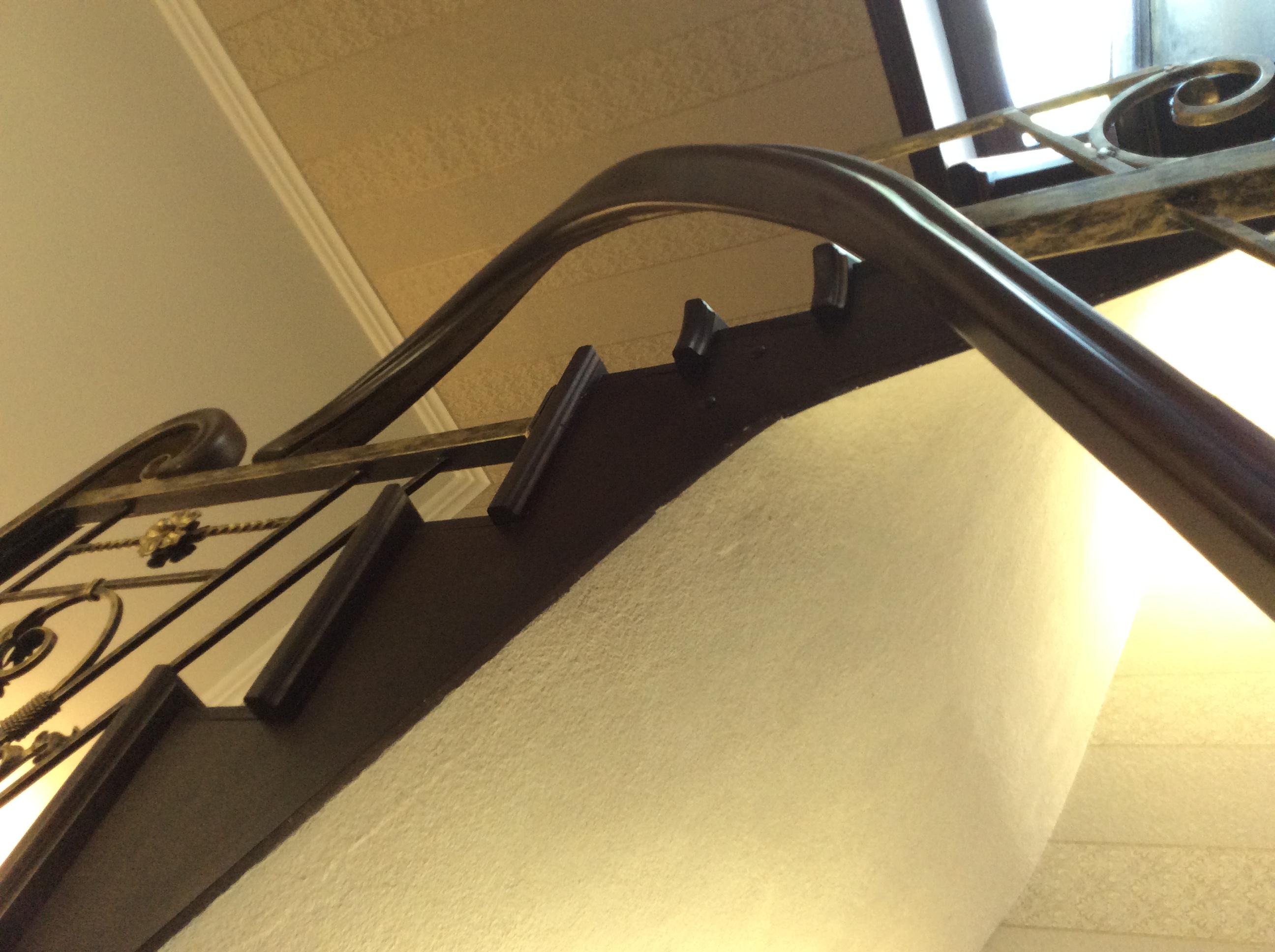 Металлические перила для лестниц своими руками 65